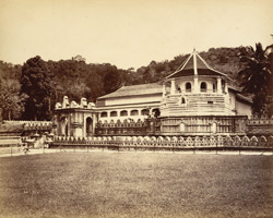 The Great Temple of Buddha [Kandy, Ceylon]